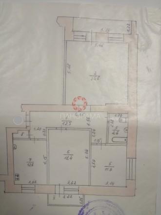 В продаже эксклюзивная квартира общей площадью 94 м2 в престижном доме, располож. Площадь (Драмтеатр), Чернигов, Черниговская область. фото 13