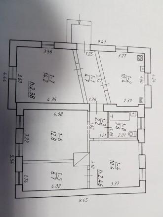 Продается отдельно стоящий дом в Сумах ул. Пантелеймона Кулиша ( бывшая ул. Остр. Автовокзал, Сумы, Сумская область. фото 12