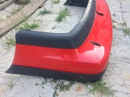 Запчасти на passat b3 седан и универсал  Бампер в хорошем состоянии с вырезом . Днепр, Днепропетровская область. фото 3