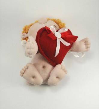 Ангел Купидон Амурчик Валентинчик - Сувенирная кукла Оберег признание в любви ил. Киев, Киевская область. фото 7