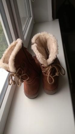 Новые зимние женские сапожки с утеплением внутри. 42й размер. Возможна отправка . Павлоград, Днепропетровская область. фото 6