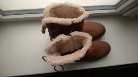 Новые зимние женские сапожки с утеплением внутри. 42й размер. Возможна отправка . Павлоград, Днепропетровская область. фото 5