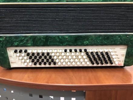 Количество кнопок правой клавиатуры(голоса): 3 ряда, 52 шт Количество кнопок лев. Чернигов, Черниговская область. фото 4