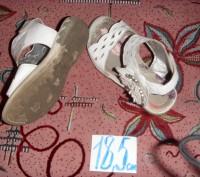 босоножки белые для девочки. б/у. состояние хорошее.. Суми, Сумська область. фото 3