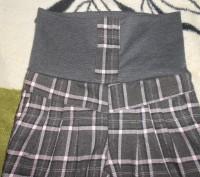 Очень теплые, стильные штанишки для девочки на флисе. Состояние хорошее, дефекто. Нікополь, Дніпропетровська область. фото 3