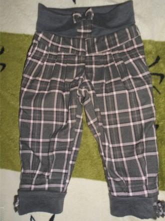 Очень теплые, стильные штанишки для девочки на флисе. Состояние хорошее, дефекто. Нікополь, Дніпропетровська область. фото 1