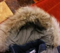состояние хорошее,очень теплый,капюшон на куртке отстегивается и мех от капюшона. Киев, Киевская область. фото 3