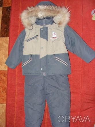состояние хорошее,очень теплый,капюшон на куртке отстегивается и мех от капюшона. Киев, Киевская область. фото 1
