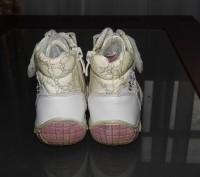 Ботинки детские весна - осень для девочки, белого цвета. Кожаные со вставками из. Житомир, Житомирська область. фото 5