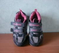 кроссовки детские ,серые с розовыми вставками для мальчика или девочки ,б/у,  хо. Полтава, Полтавська область. фото 7