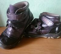 ботинки лакированные для мальчика или девочки , б/у,  смотрите фотографии. Полтава, Полтавская область. фото 2