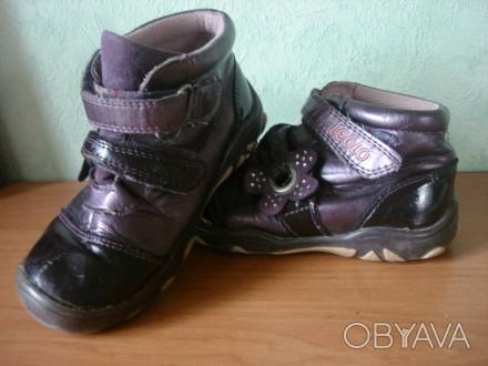ботинки лакированные для мальчика или девочки , б/у,  смотрите фотографии. Полтава, Полтавская область. фото 1