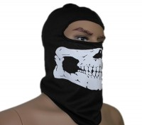 Балаклава подшлемник Скелет. Одесса. фото 1