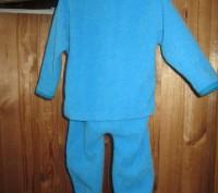 Можно так же и одевать как костюмчиком.Светло синий.Тонкая махра.Размер меряла с. Житомир, Житомирская область. фото 4