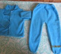 Можно так же и одевать как костюмчиком.Светло синий.Тонкая махра.Размер меряла с. Житомир, Житомирская область. фото 3
