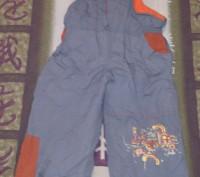 Комбинезон раздельный, штаны внизу с резинкой, состояние отличное. Киев, Киевская область. фото 3