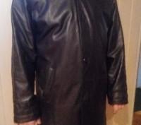 Куртка кожаная мужская осень-весна. Житомир. фото 1