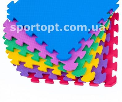 Коврик-пазл нескользкий, рельефный, теплый – идеально подойдет для детской комна. Киев, Киевская область. фото 2