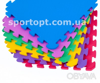 Коврик-пазл нескользкий, рельефный, теплый – идеально подойдет для детской комна. Киев, Киевская область. фото 1
