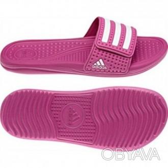 Фирменные тапочки adidas для баcсейна и повседневной носки. Регулируемый бандаж. Никополь, Днепропетровская область. фото 1