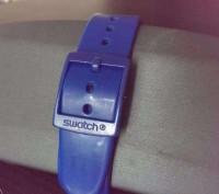Швейцарский хронограф Swatch Chrono Plastic BLUE C SUSN400, очень яркая серия ча. Коростень, Житомирская область. фото 4