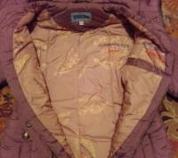 Пальто на синтепоне на девочку 10 - 12 лет теплое, удобное, красивое. В хорошем . Житомир, Житомирская область. фото 5