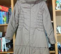 Пальто на синтепоне на девочку 10 - 12 лет теплое, удобное, красивое. В хорошем . Житомир, Житомирская область. фото 3