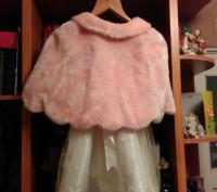 Праздничное платье на девочку с болеро, красивое, удобное, нежное, в отличном со. Житомир, Житомирська область. фото 5