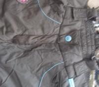 Штаны на девочку на шлейках,шейки регулируются. теплые на синтепоне, красивые.уд. Житомир, Житомирская область. фото 6