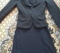 Школьная форма на девочку: пиджак и платье. Форма в хорошем состоянии, красивая,. Житомир, Житомирская область. фото 3