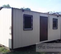Вагончик 6х3 м, новый, качественно выполнен. Киев. фото 1