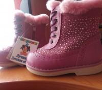 Новые, ортопедические зимние ботиночки Шалунишка, без дефектов, просто подарили,. Житомир, Житомирская область. фото 2