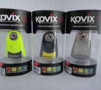Продам противоугонный замок на диск с сигнализацией Kovix KAL6. Житомир. фото 1