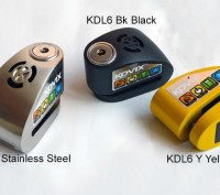 Продам противоугонный замок на диск с сигнализацией Kovix KDL6. Житомир. фото 1