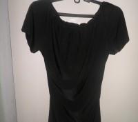 Продам облегающую модную платье - тунику черного цвета фирмы WHITE. Размер 42-44. Житомир, Житомирская область. фото 3