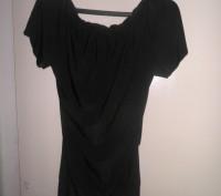 Продам облегающую модную платье - тунику черного цвета фирмы WHITE. Размер 42-44. Житомир, Житомирская область. фото 2