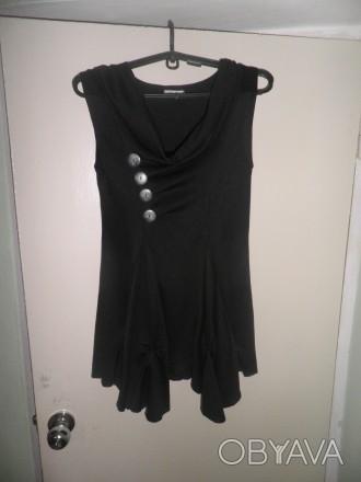 Продам классное модное платье черного цвета фирмы MOLLIE. Размер М/L, 44-46, 95 . Житомир, Житомирская область. фото 1