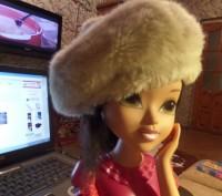 Красивый теплый берет для девочки. Новый, так и не успели поносить. 100% полиэст. Житомир, Житомирская область. фото 3