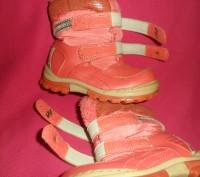 Детские ботинки YTOP для девочки.  Размер – 25 Длина по стельке - 16 см.  Ма. Полтава, Полтавська область. фото 8