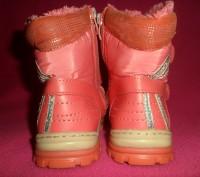 Детские ботинки YTOP для девочки.  Размер – 25 Длина по стельке - 16 см.  Ма. Полтава, Полтавська область. фото 6