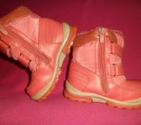 Детские ботинки YTOP для девочки.  Размер – 25 Длина по стельке - 16 см.  Ма. Полтава, Полтавська область. фото 7
