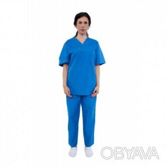 Костюм медицинский модельный женский, униформа, спецодежда