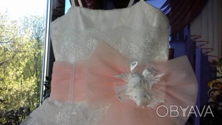 Прокат нарядного платья,как на выпускной так и на другие праздники.Туфельки,сумо. Полтава, Полтавская область. фото 1