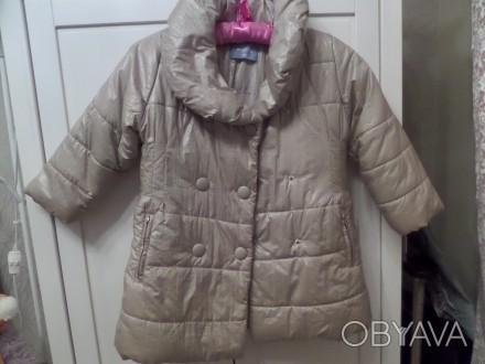 Отличное,теплое зимнее пальто фирмы WOJCIK на девочку 5 лет. Капюшон отстёгивает. Житомир, Житомирська область. фото 1