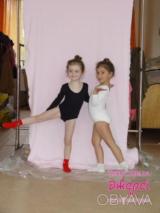 Класичне гімнастичне трико для дівчинки - необхідна річ для занять спортом або т. Бердянск, Запорожская область. фото 1