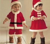 Новогодний костюм Санты для мальчика. В комплект входит шапочка,шортики и шапочк. Коростень, Житомирская область. фото 2