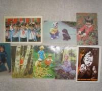 Карманные календарики Дети . СССР. 8 штук. Житомир. фото 1
