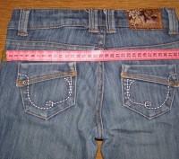 Продаю модные серо-синие джинсы для девочки 8-10 лет, фирма here+there COOL by C. Киев, Киевская область. фото 5