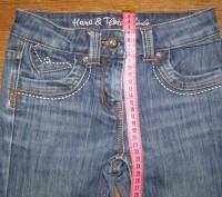 Продаю модные серо-синие джинсы для девочки 8-10 лет, фирма here+there COOL by C. Киев, Киевская область. фото 3