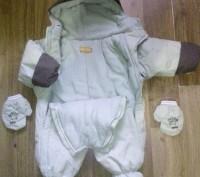 Продам очень удобный зимний комбинезон на флисе для ребенка до 6 месяцев.Подходи. Суми, Сумська область. фото 3